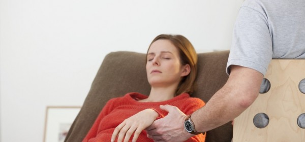 Kvinde i hypnose