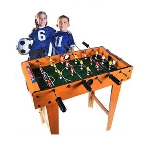 Vi skal alle kende reglerne, før vi spiller bordfodbold