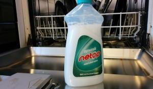 Opvaskemiddel i opvaskemaskine - næppe en god ide!