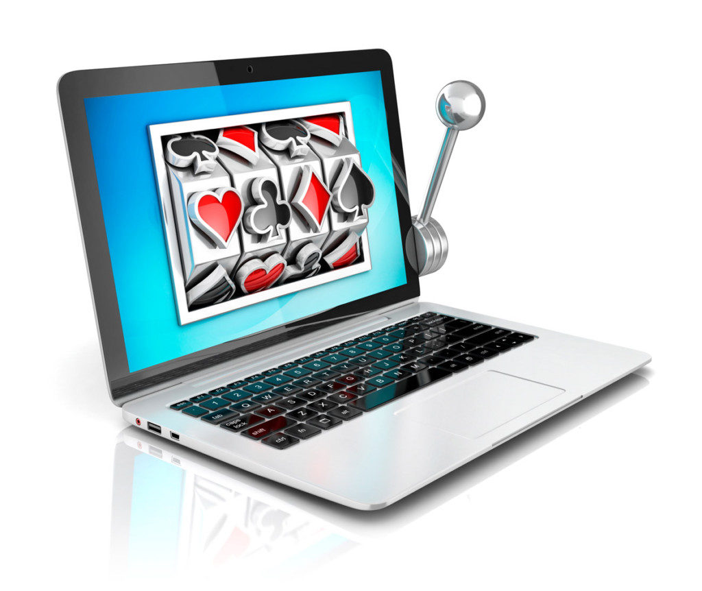 Spilleautomater på nettet